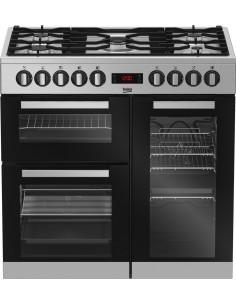 Cuisinière Mixte Pyrolyse ELECTROLUX Blanche EKM66780OW