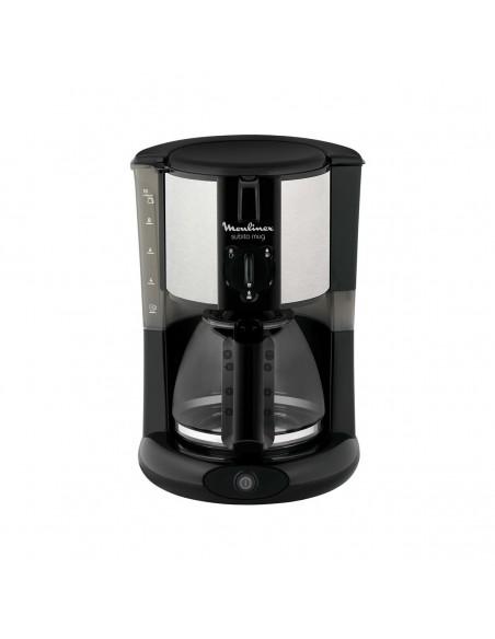 Cafetière Electrique Filtre pour 1 Mug ou 1 verseuse Noire Inox MOULINEX  FG290811