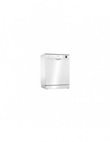 Lave-Vaisselle Pose Libre  Blanc Silence Plus 12 Couverts BOSCH SMS25AW07E
