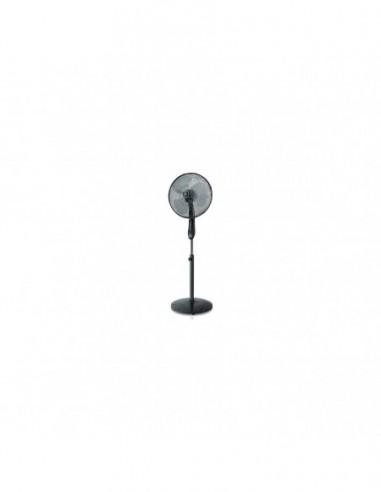 Ventilateur sur Pied Noir ALPATEC BOREAL16CR Minuterie