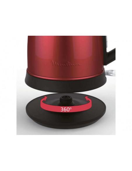Bouilloire rouge MOULINEX BY550510