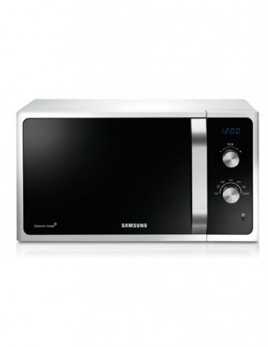 Micro-ondes monofonction 28L Blanc SAMSUNG MS28F303EAW