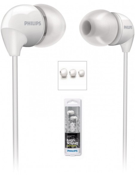 Ecouteurs Blanc SHE3590WT10 PHILIPS