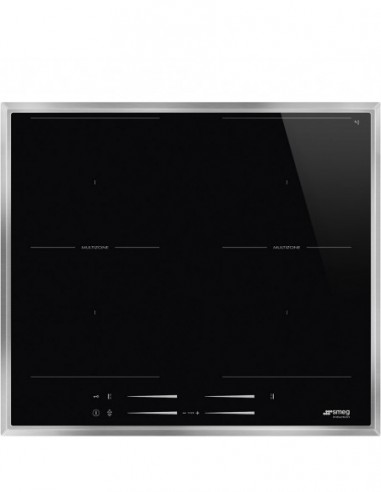 Table De Cuisson SMEG Induction Multizones SI2M7643FX