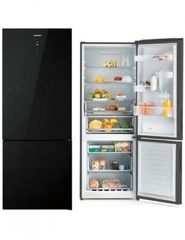 Réfrigérateur Combiné No Frost Noir ROSIERRES RMGN7184N