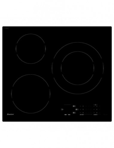 Table Induction Noire 3 Foyers SAUTER SPI7362B