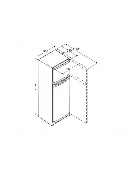 Réfrigérateur 2 portes 270L LIEBHERR CTPEL251